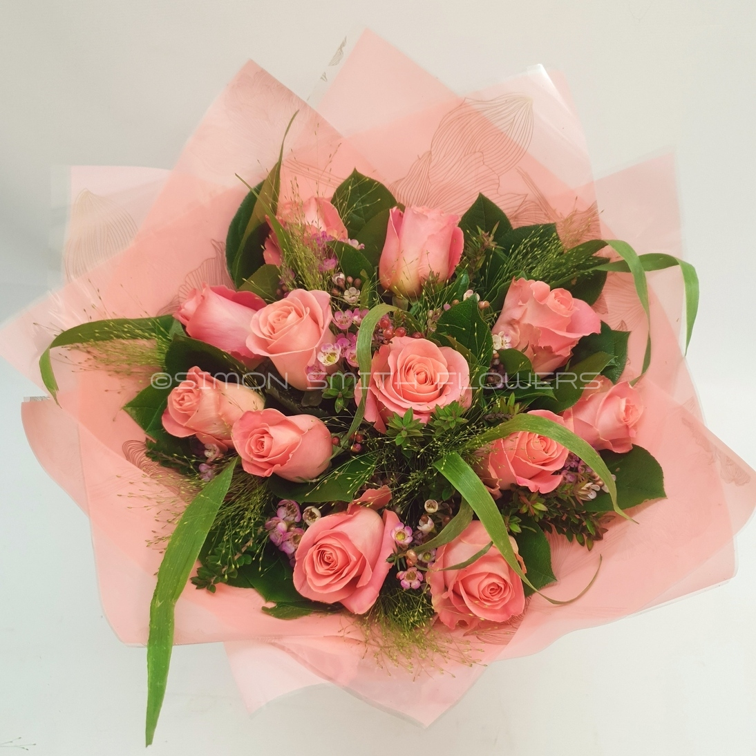 Click to view DOZEN PINK ROSES