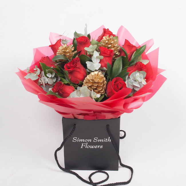 Click to view CHRISTMAS ROSE BAG