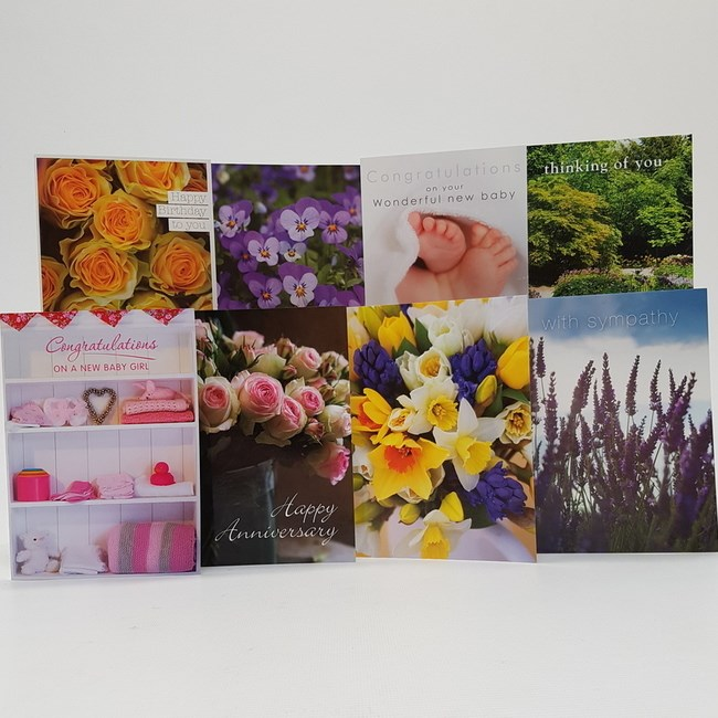 GREETINGS CARDS